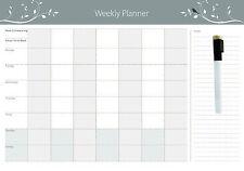 Magnetic Weekly  planner + Free Whiteboard Marker (Australian Made)