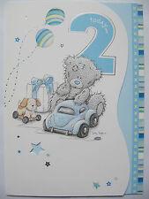 ME to You Tatty Ted IN RILIEVO SAGOMATO 2ND Compleanno Biglietti d'auguri