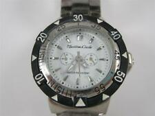Montres Carlo Stainless Unisex Quartz Watch Rotating Bezel Water Resistant NEW