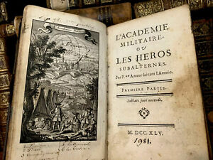 1745 THE MILITARY ACADEMY or Subaltern Heroes