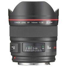 Used Canon 14mm F2.8 L II USM EF AF Lens w/ box and case