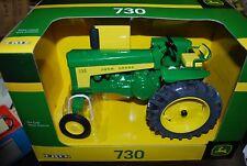 1/16 John Deere 730 tractor w/ wide front by Ertl, very nice new in box