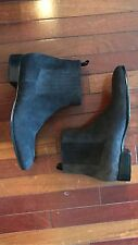 Balenciaga Chelsea Boots Men's 46EU/13US Made In Italy Anthracite Grey