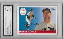 2006 Topps #MHR1 Mickey Mantle HR History HR # 1 Graded PGA 1 Gem Mint Cond