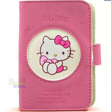 Cute Pink Hello Kitty Leather Bank Card Credit Card Holder Case Bag