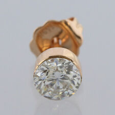 Maria Tash 18ct Rose Gold Diamond Invisible Set Stud Earring