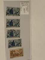 Portugal Stamps #AB21 1946 A152 5 pcs.