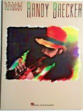 """Randy Brecker """"Artist Transcriptions for Trumpet"""" - New"""