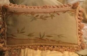 Antique Aubusson Pillow