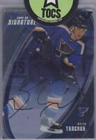 Keith Tkachuk 2002-03 ITG Vault X-Signature Hard Signed Auto St Louis Blues