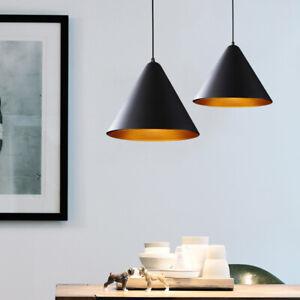 Bar Lamp Kitchen Chandelier Lighting Modern Ceiling Lights Black Pendant Light