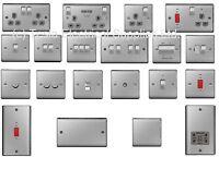 BG Nexus Chrome Switches and Sockets - Full range Satin / Brushed / Polished