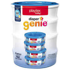Playtex Baby Diaper Genie Refills, 960 Count