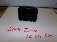 Vauxhall Zafira Digital Clock Display
