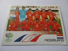 Sticker PANINI Fifa World Cup GERMANY 2006 N°226 Team Netherlands Nederland