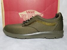 New Vans Iso 1.5 Mono Ivy Green Mesh Gum Ultra Cush Skate Shoe Men 7.5 , Wo