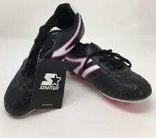 Starter Youth Girls Pink And Black Soccer Cleats - Size 4