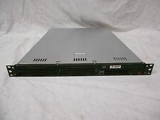 3PAR F400 Controller SuperMicro Server PDSM2-E+ 1U CSE-811 500GB SATA 4Gb RAM PS
