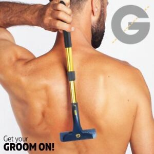 8pc Groomarang Back Shaver Back Shaving Body Hair Removal Blade Back Hair Razor