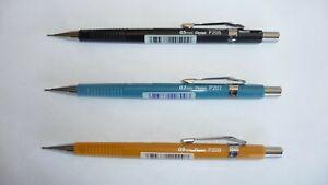 Pentel P200 Mechanical Pencil 0.5mm 0.7mm 0.9mm P205 P207 P209 combinations