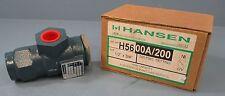 """Hansen Pressure Relief Valve-for Refrigerant H56-00A/200 1/2"""" X 3/4"""" - 200 PSIG"""