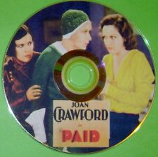 PRE-CODE 57: PAID 1930 Joan Crawford, Robert Armstrong, Marie Prevost