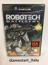 ROBOTECH BATTLECRY NINTENDO GAME CUBE GC - PAL NUOVO NEW SEALED SIGILLATO