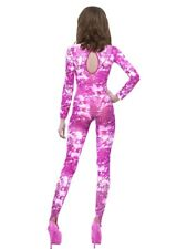 Bodysuit Tie Dye Pink Full Body Stocking Ladies Lingerie New