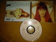 CHER - LOVE HURTS CD BOB ROCK RICHIE ZITO LUKATHER