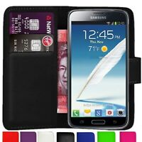 Case Cover For Samsung Galaxy s3 mini magnetic Flip Leather Wallet phone luxury