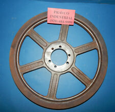 """Maurey 2B15.4SK 2 Groove Pulley Sheave 15-3/4""""(15.75"""") Outer Diameter"""
