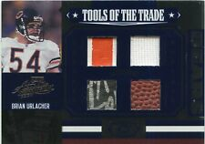 Brian Urlacher 2007 Playoff Absolute Tools Of The Trade Quad Relics Card 04/10