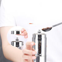 Ceramic Burr Manual Coffee Grinder Portable Hand Crank Coffee Machine New