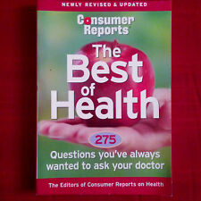 Consumer Reports The Best of Health 2004 (paperback)
