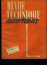(C11)REVUE TECHNIQUE AUTOMOBILE MERCEDES 170 S / TRACTEUR DAVID BROWN