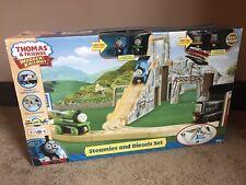 Thomas Wooden Railway Steamies And Diesels Train Set