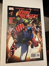 Young Avengers 1 NM signed Heinberg 1st Wiccan, Hulking , Patriot CGC Worthy