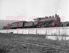 East Broad Top (EBT) Engine 16 with coach near Mount Union, PA - 8x10 Photo