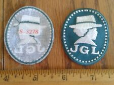 Girl Scout=Juliette Gordon Low=JGL=Cameo=Green=Fun Patches/Badges=$1.95 Ship
