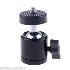 """2 Quality 360 Swivel Mini Ball Head 1/4"""" Screw DSLR Camera Tripod Ballhead Stand"""