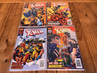 Marvel Comics X-Men Collector's Edition Comic Books - Issue #73 #74 #75 #76