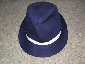 "GYMBOREE ""Parisian Afternoon"" Fedora Bow Hat Size M(7-8) NEW!"