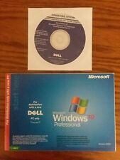 Microsoft Windows XP Professional CD w/Service Pack 1a + Booklet