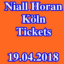 Tickets - NIALL HORAN - KÖLN - Stehplätze - Konzertkarten - 19.04.2018