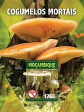 Mozambique 2016 MNH Poisonous Mushrooms Death Cap 1v S/S Fungi Nature Stamps