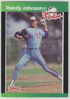 "1989 DONRUSS RANDY JOHNSON ""THE ROOKIES"" RC #43 MONTREAL EXPOS"