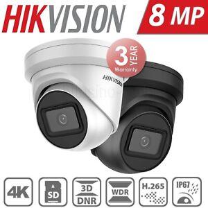 Hikvision Darkfighter Black 8Mp PoE Turret DS-2CD2385G1-I 4K Security Ip Camera