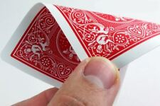 BICYCLE GAFF CARDS DOUBLE BACK RED - Magic Magician Trick Decks Playing Cards