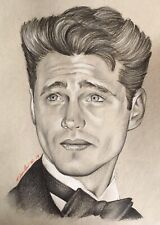 Jason Priestley Original Pencil Drawing . Fan-ART A4 . Beverly Hills 90210