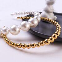 Women's Beads Hairband Headband Jewelry Gift Headbands Hair Hoop Accessories HOT